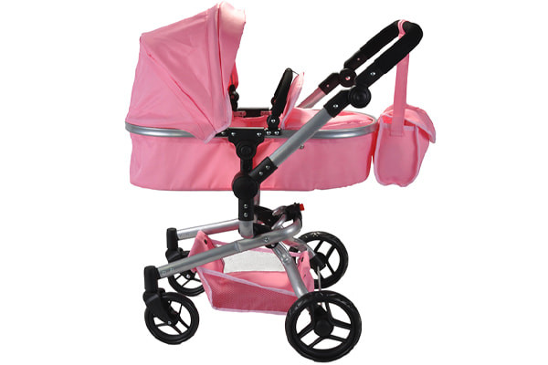 Puppenwagen Classic Angel 2in1 softpink