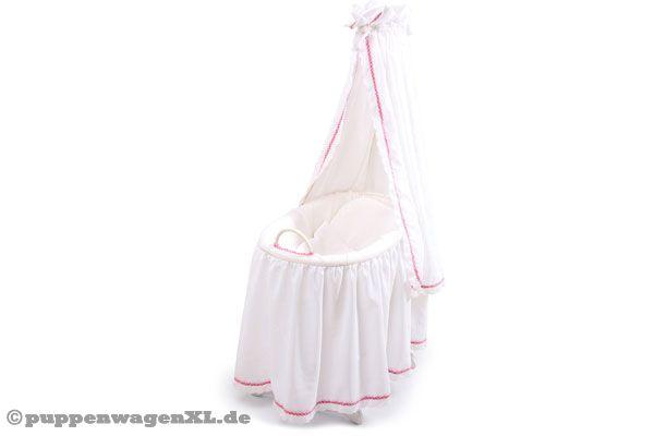 Gnstige stubenwagen nestchen fr babywiege rosa blau oder beige